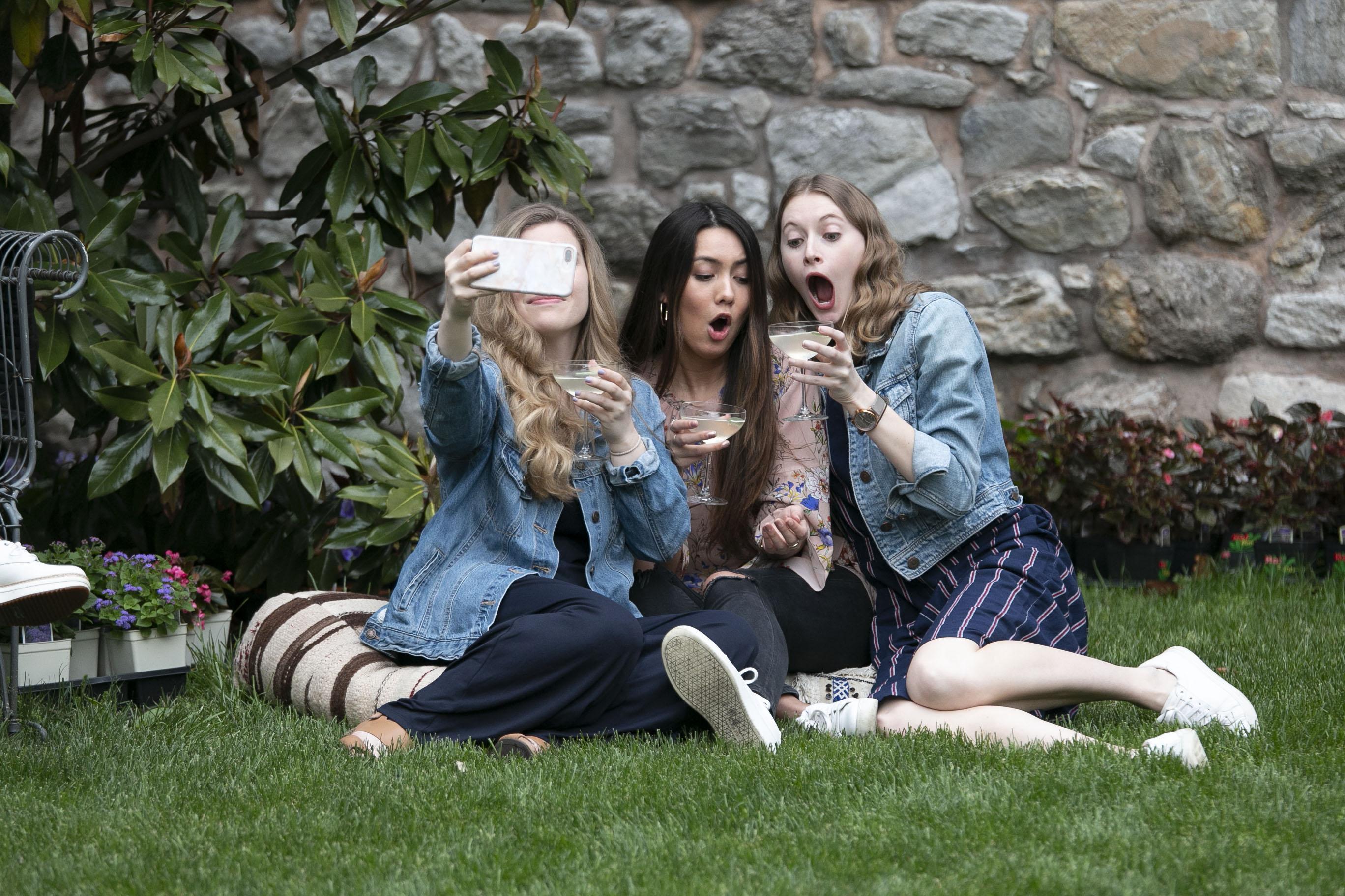 Selfie Trio