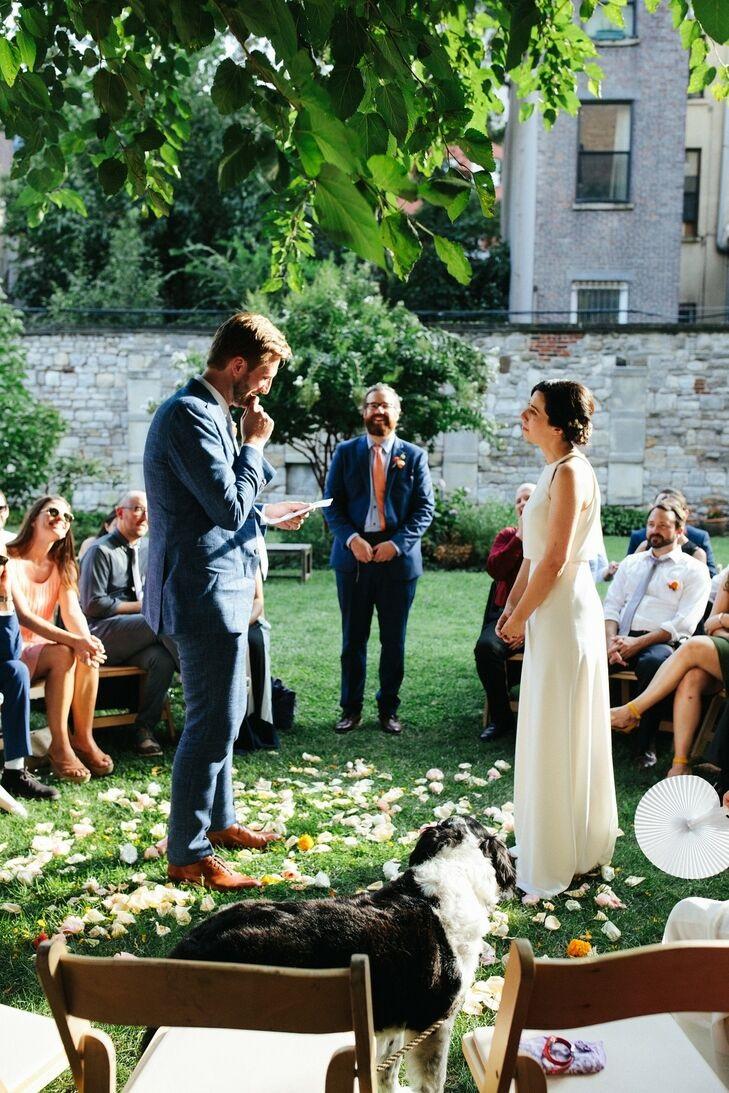Adams_Terwilliger wedding bride and groom exchange vows